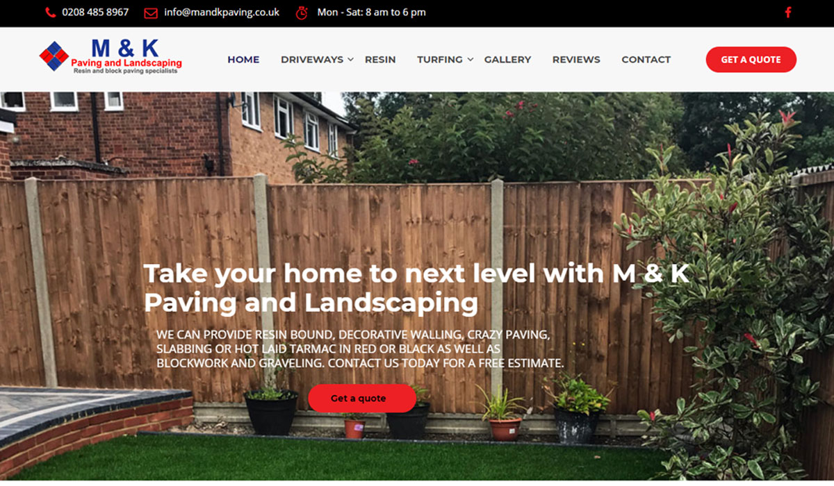 M & K Paving and Landscaping